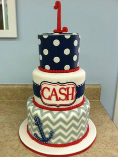 Someone have a nautical-themed party so I can make this! I'm obsessed!!