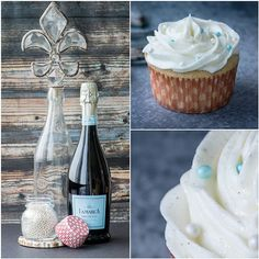 Prosecco Cupcakes - Cupcake Daily Blog - Best Cupcake Recipes .. one happy bite at a time!