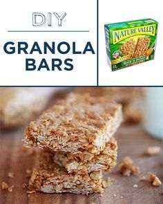 Bake granola bars with less sugar and no preservatives. | 30 Foods You'll Never Have To BuyAgain