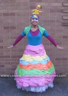 """Coolest Dr. Seuss' """"Oh, the Places You'll Go!"""" Costume: Halloween is my absolute favorite holiday and every year I try to be creative and come up with something unique and fun. I usually start brainstorming"""