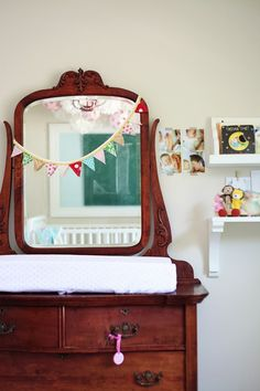 Love this sweet room and the thought that went into it.