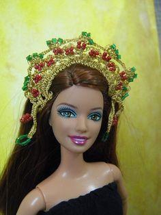 doll -  barbie headdress