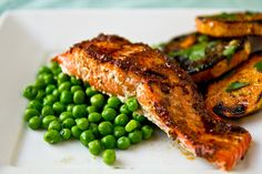 Grilled Maple-Chili Salmon