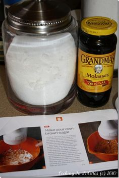 How to make your own brown sugar - quite the lifesaver come the holiday season.    http://cookinginstilettos.com/quick-fix-how-to-make-brown-sugar/