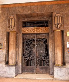 Art Deco Entrance, Casablanca