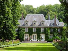 country houses, mansion, dreams, dream homes, french country