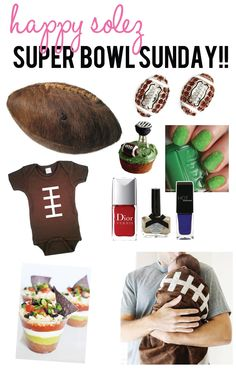 Cute Super Bowl Sunday Picks! #party #superbowl #football #DIY #foods #crafts