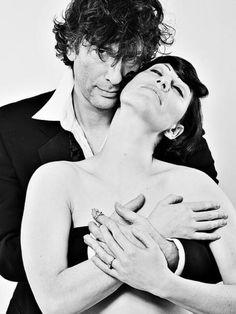 Neil Gaiman & Amanda Palmer, via Theremina on Flickr