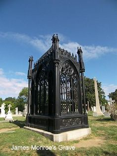 James Monroe Grave Site - Hollywood Cemetery - Richmond .. 6 U.S. Presidents and Jefferson Davis are buried in this cemetery