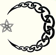 Moon Celtic Tattoo