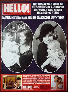 PRINCESS DIANA and her grandmother LADY CYNTHIA The remarkable story of the Spencers of Althorp by the woman who served them for 22 years