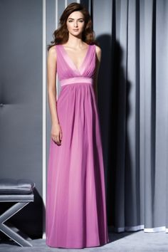 Tuscany Bridesmaid purple