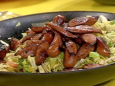 Chicago Dog Salad from Rachael Ray - I make this every summer, it is a HUGE hit! :)
