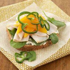 Turkey Mango Sandwich