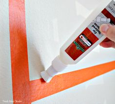 How to Create DIY Stripes on a Textured Wall l Tutorial l Fresh Idea Studio