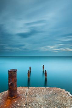 The Rusty Pier by Francesco Gola, via 500px