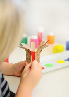 Cardboard Bouquet Kids Craft