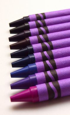 Purple crayons