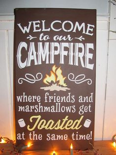 Ha! Ready for some camping!