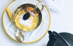 Lemon-Soufflé Pudding Cake Recipe - Bon Appétit