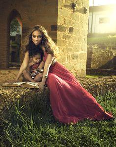 Supermodel Tyra Banks. #black #model #female