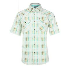Cody James® Men's Plaid Short Sleeve Western Shirt