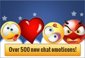 Start sending new Facebook chat emoticons!