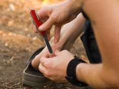 How to treat hiking hot spots and blisters on the trail.