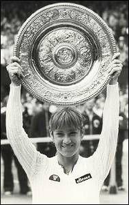 Chris Evert - 3x Wimbledon