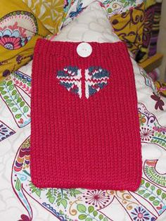 Free Kindle Cover Knitting Pattern