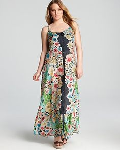 Johnny Was Collection Plus Button Down Maxi Dress | Bloomingdale's