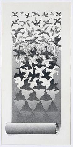 Escher art | Escher // Liberation Art Print