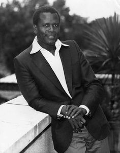 Sidney Poitier- one of my all time favorited!!!