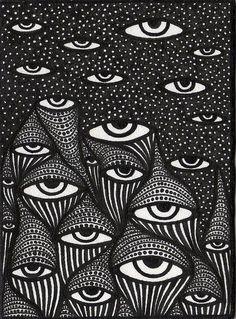 #zienrs #eyes #illustration
