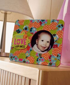 mod podg, craft, baby gifts, punch paper, inch punch, rock, paper frame, wood frames, the one