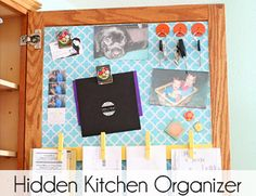 Hidden Kitchen Organizer - Two Twenty One