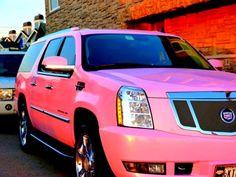 Cadillac Escalade Pink