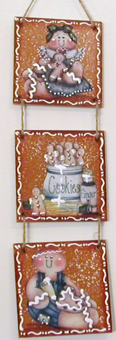 Gingers in the Cookie Jar Gingerbread Wall by Crafts