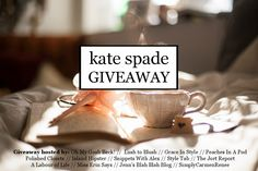What!? Is this for real? $300 Kate Spade Gift Card Giveaway!