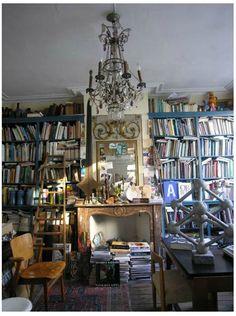 artists, interior, books, home libraries, heaven, artist pierr, bruges, homes, pierr bergian