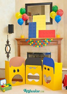 Large Paper Lego Brick | Lego Movie Decor