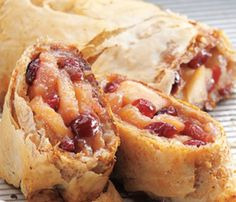 oven baked apple cranberry strudel recipe more convection ovens apple ...