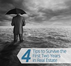 How to Become a #RealEstate Agent & 4 Tips to Survive the First Two Years! #Agent #Broker #Seller