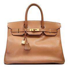 The mother of all bags,Hermes 35 Cm Gold Epsom Birkin