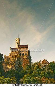 Lichtenstein Castle of Lichtenstein.