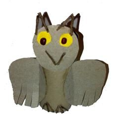Elmers - Friendly Owl Children will have fun creating a friendly owl using all natural or recycled materials.