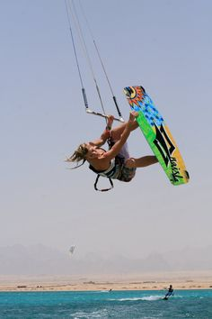 Jo Wilson - Pro Kitesurfer and Coach: Soma Bay - Egypt