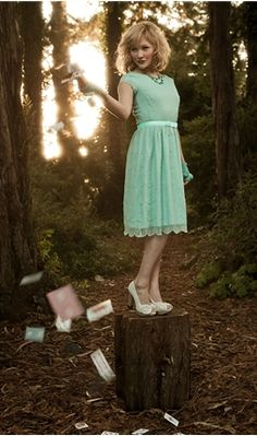 #http://www.shabbyapple.com/p-1414-alice.aspx  Turquoise dress #2dayslook #Turquoise #dress #fashion  www.2dayslook.com