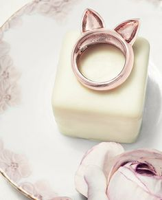 bling, cat ear, style, accessori, ear ring, kitti ring, ears, kitty, jewelri