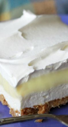 Lemon Icebox Delight